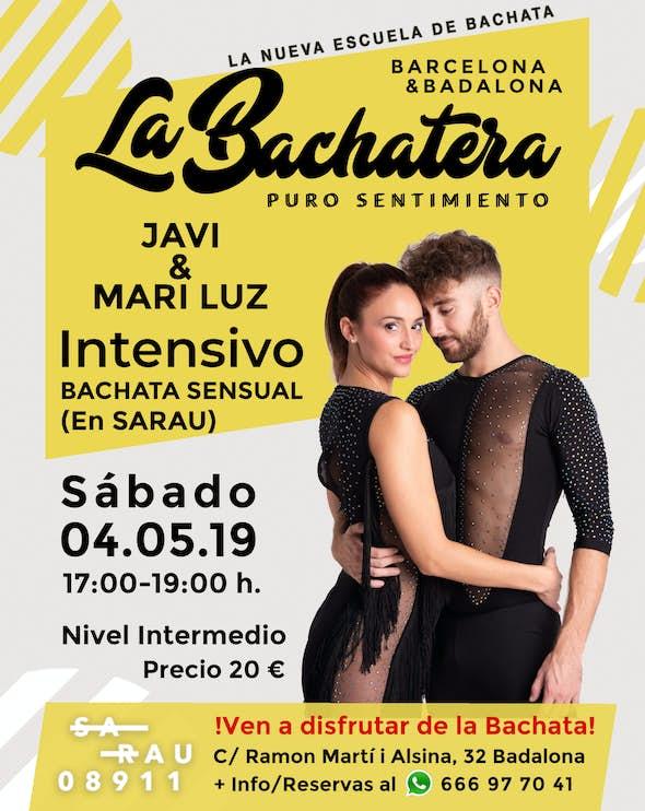 Intensivo de Bachata Javi & Mari Luz en La Bachatera (Barcelona)