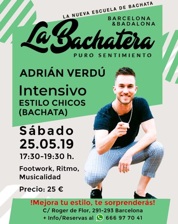 Intensive Men Style by Adrián Verdú in La Bachatera (Barcelona)