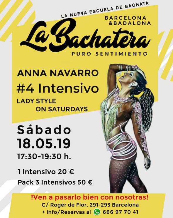 Intensive Lady Style by Anna Navarro in La Bachatera (Barcelona)