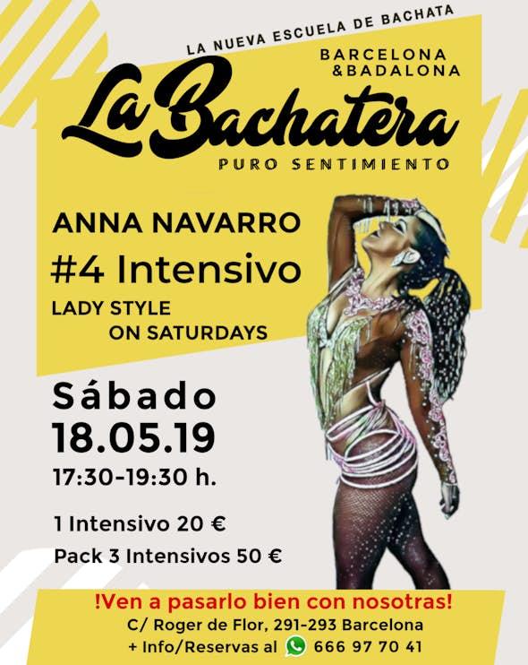 Intensivo Estilo Chicas Anna Navarro en La Bachatera (Barcelona)