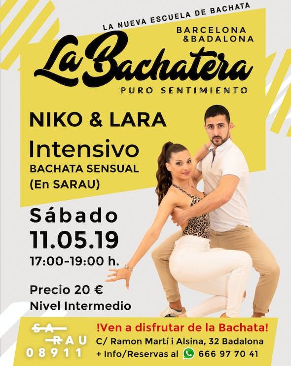 Intensive Bachata Niko & Lara in La Bachatera (Barcelona)