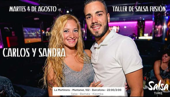 Every tuesday Salsa Time BCN