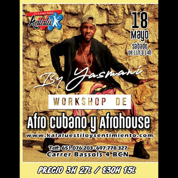 Workshop - Afrocubana & Afrohouse at Kalalú (Barcelona)