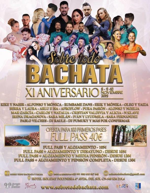 Sobre Todo Bachata 2019 (11th Edition)