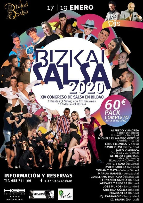 BizkaiSalsa 2020 (14th Edition)
