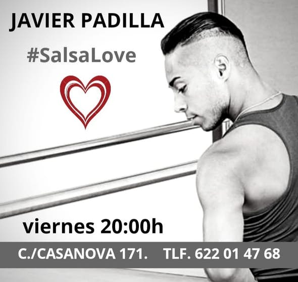 Workshop #Salsalove with Javier Padilla at Bachata Dance School (Barcelona)