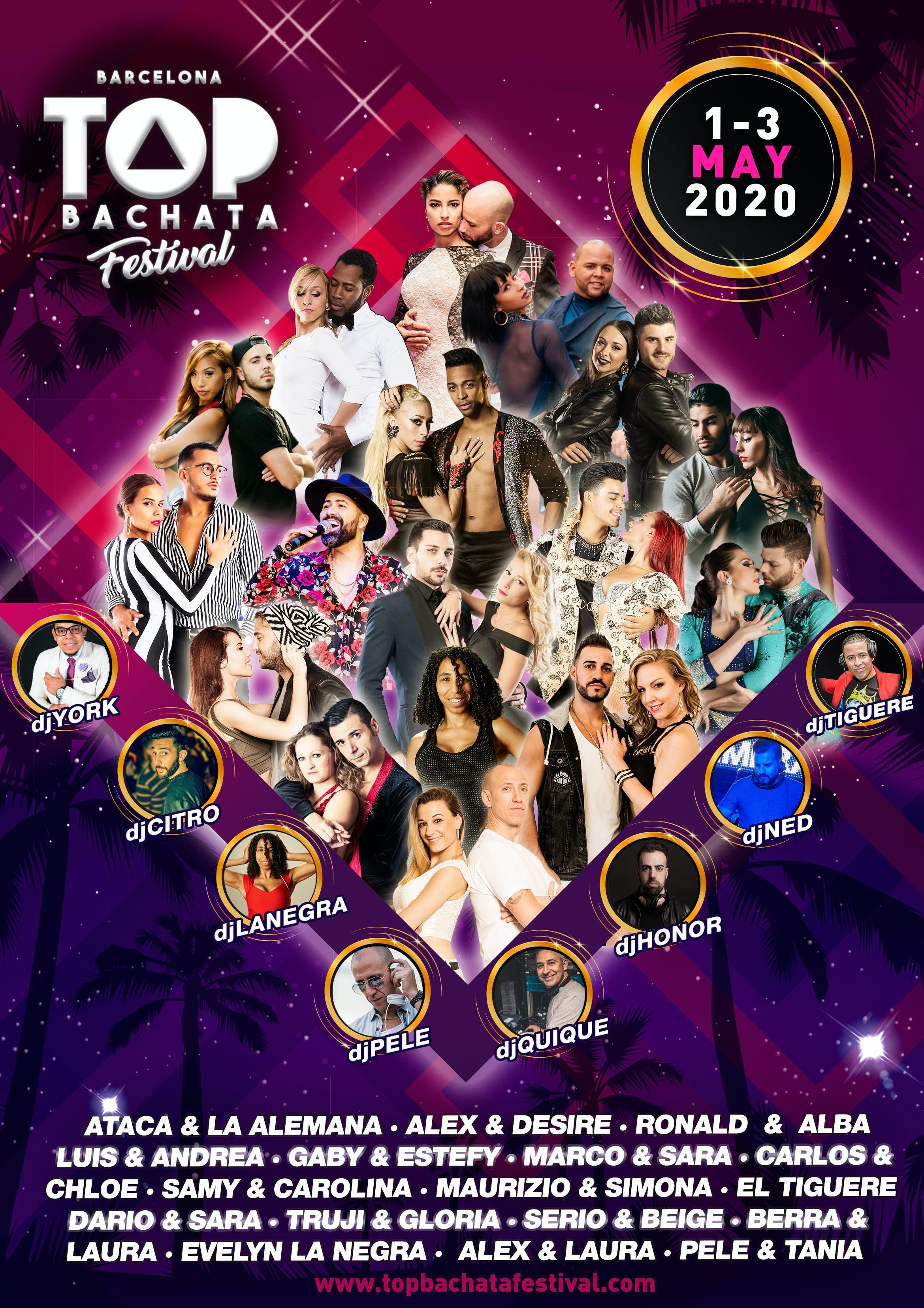 La Bachata Festival 2020 Top Bachata Festival 2020   go&dance