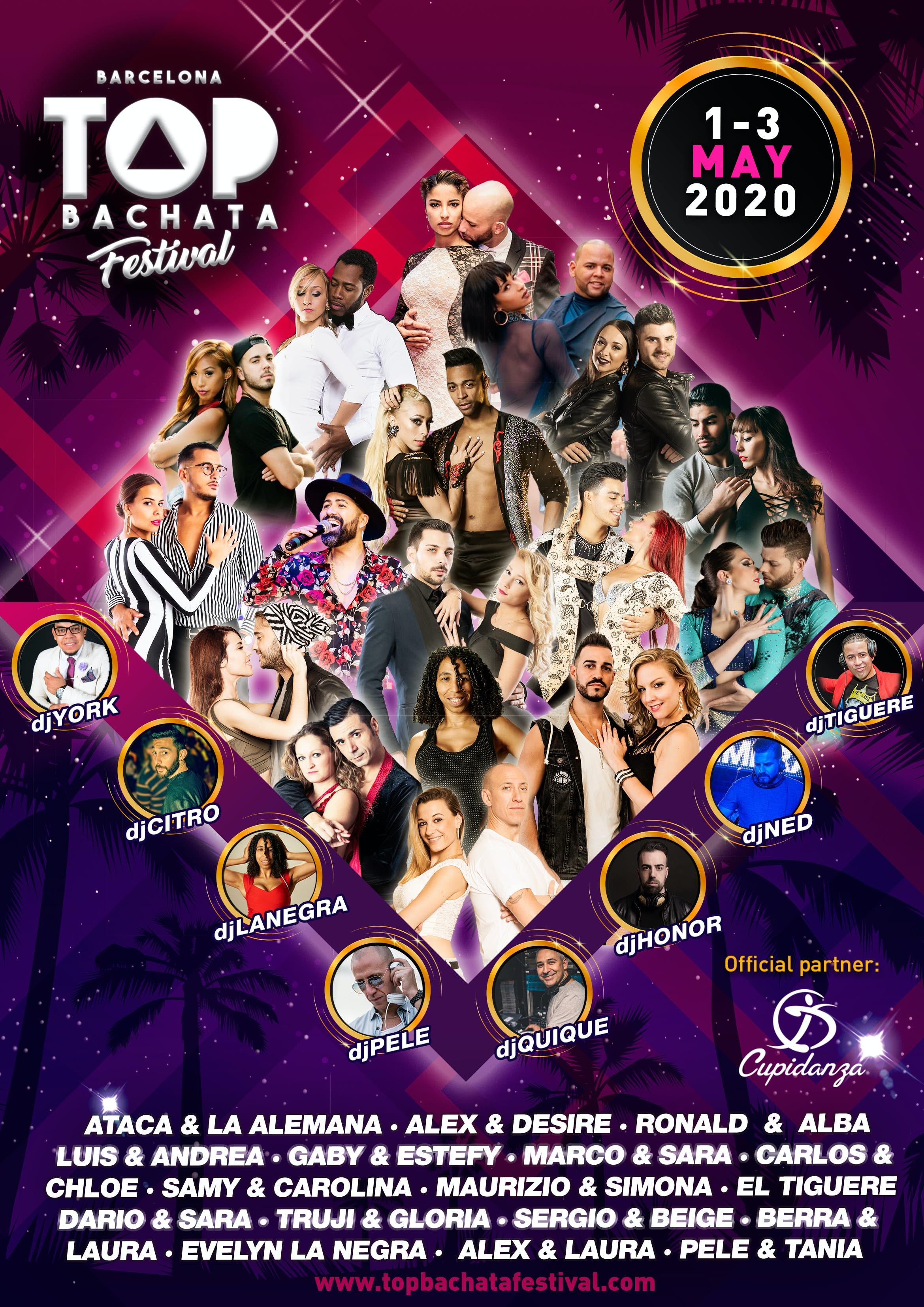Top Events Of 2020.Top Bachata Festival 2020 Go Dance