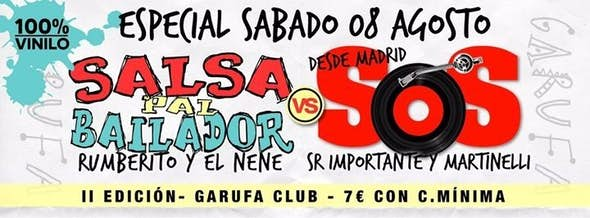 Especial: Salsa Pal Bailador vs SOS (2ª Edición)