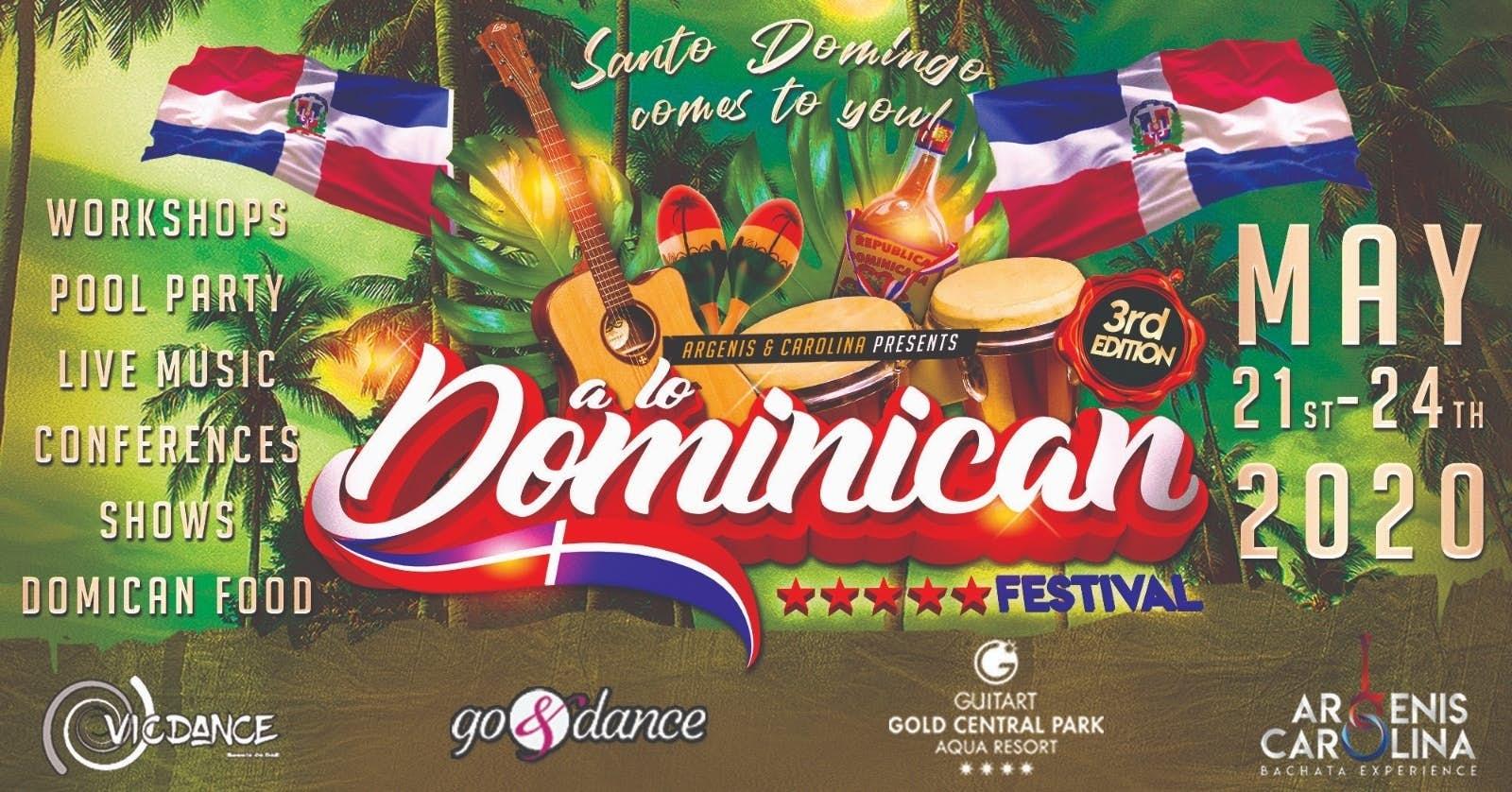 A lo Dominican Festival 2020 (3ª Edición)