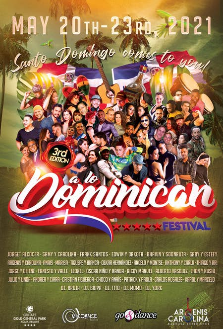 A lo Dominican Festival 2021 (3ª Edición)