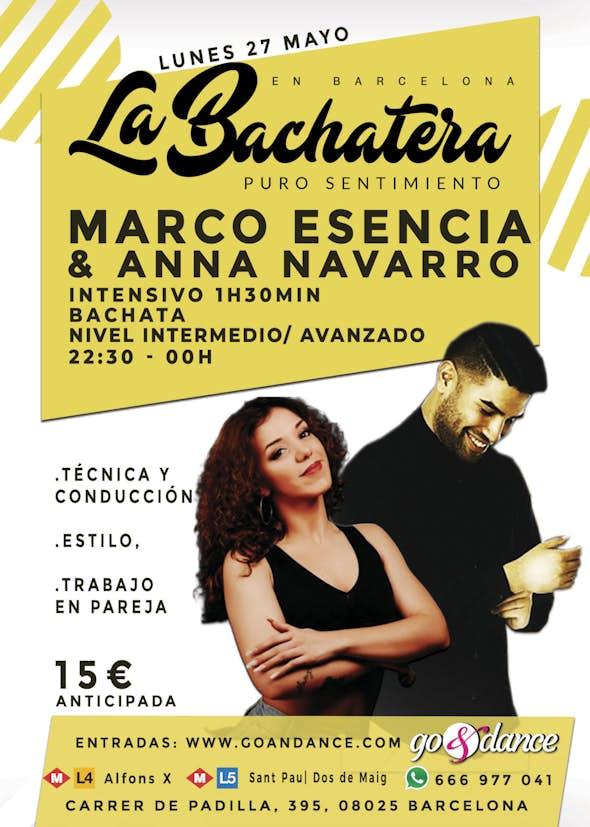Intensivo Bachata Marco Espejo & Anna Navarro en La Bachatera (Barcelona)