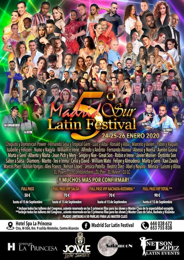 Madrid Sur Latin Festival 2020 (5th Edition)