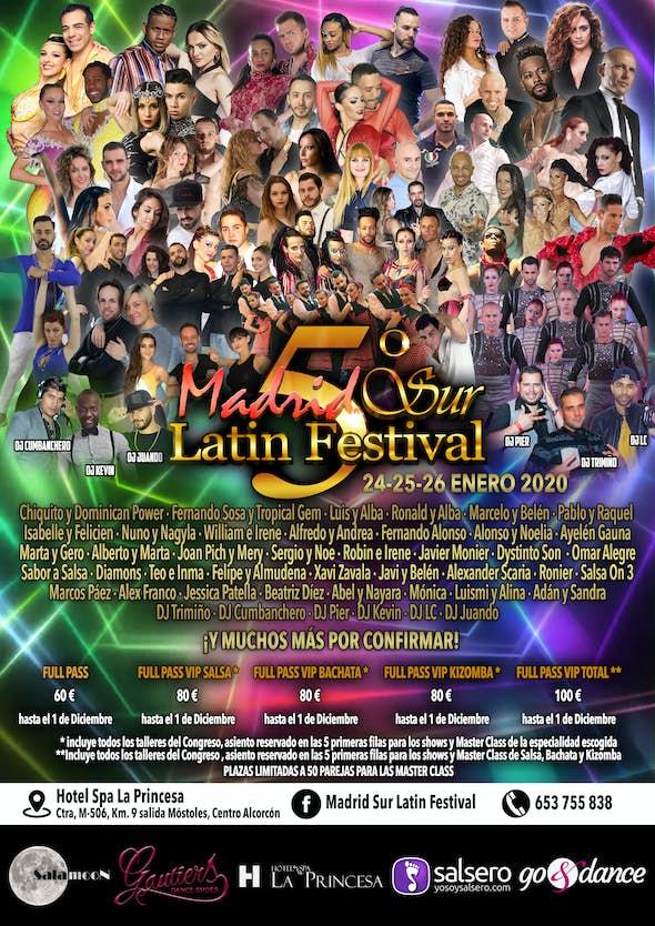Madrid Sur Latin Festival 2020 (5th Edition)