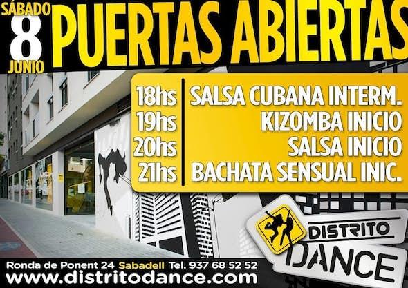 4 Clases Gratis de Salsa, Bachata o Kizomba - Sabadell, 8 Junio