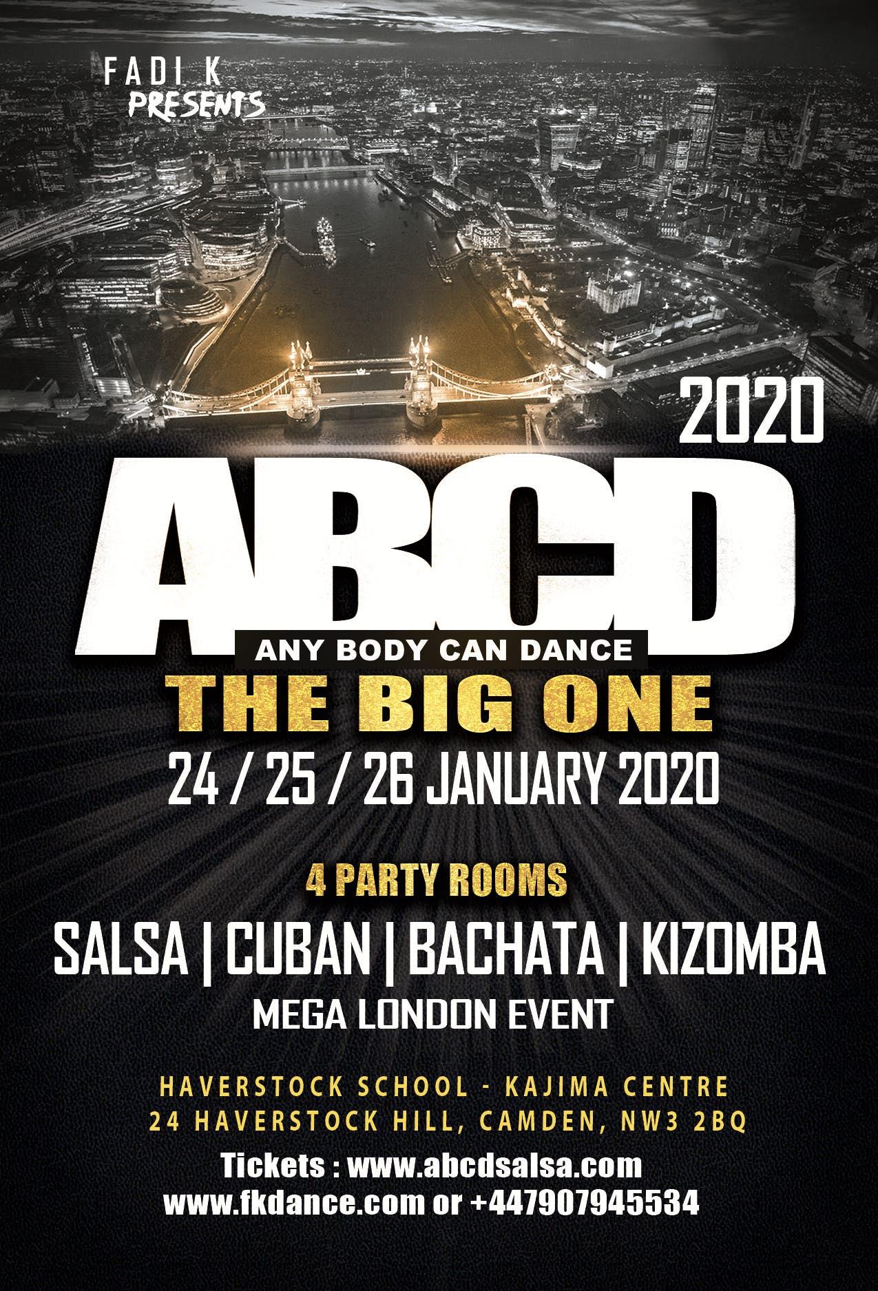 ABCD - Any Body Can Dance Festival - London 2020 - go&dance