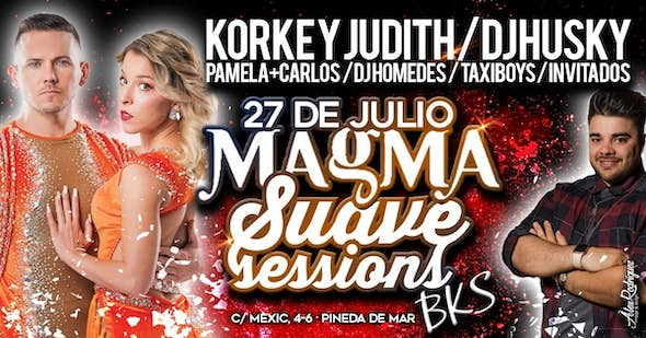 Suave Sessions with Korke & Judith in Magma - July 27th 2019