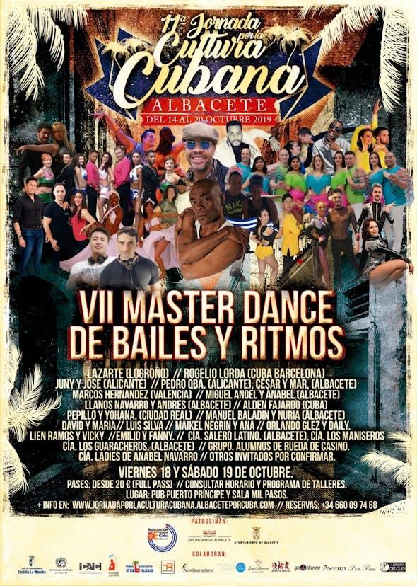 VII Master Dance de Bailes y Ritmos - Albacete 2019