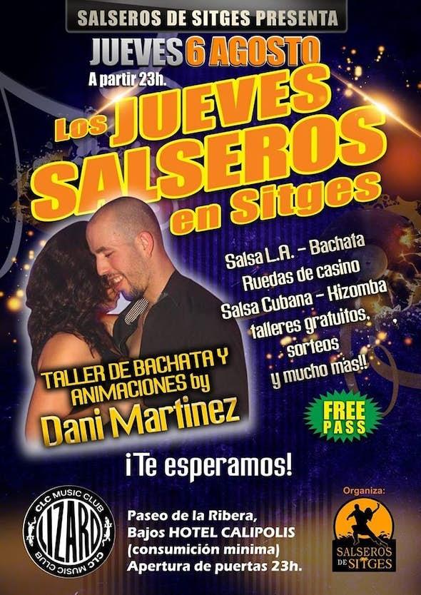 Salsa Thursdays at Sitges