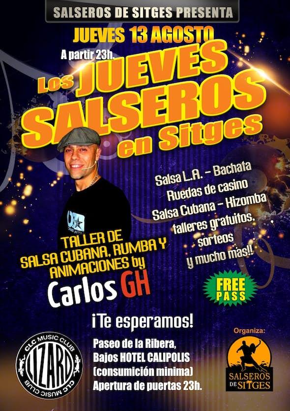 Los Jueves Salseros en Sitges con Carlos GH