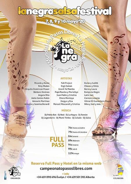 "La Negra Salsa Festival 2021 + XI Footwork World Championship ""La Negra Salsa"""