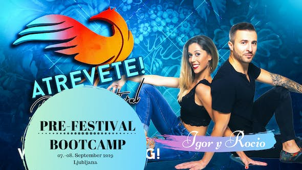 Bachata Bootcamp Weekend with Igor y Rocio - 6, 7 and 8 Sept 2019
