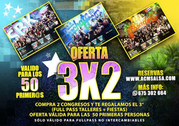 3x2 congresos ACM Salsa