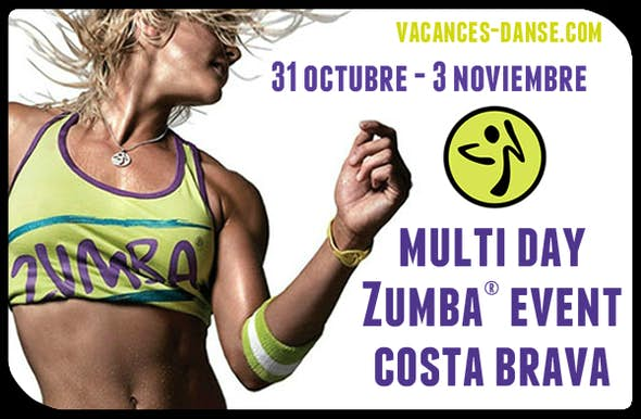Multi Day ZUMBA® Event Costa Brava - Octubre 2019