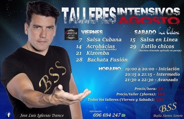 Bachata and Kizomba intensive acrobatics