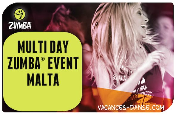 Multi Day ZUMBA® Malta - 14 - 21 February 2020