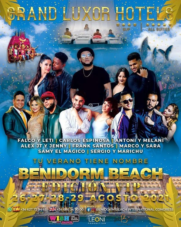 Benidorm Beach Edición Vip 2021