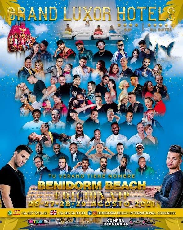 Benidorm Beach  Edición Vip 2021 (NEW LOCATION!)