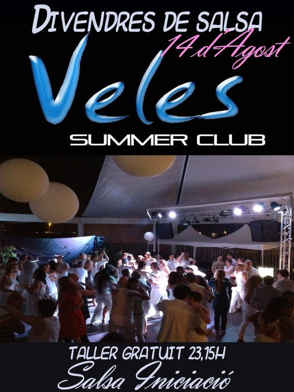 Salsa night in Veles Club Summer terrace
