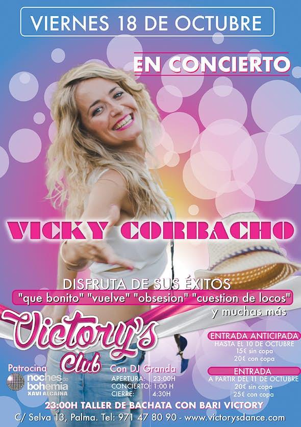 (CANCELED) Vicky Corbacho Concert in Mallorca - Friday 18 October 2019