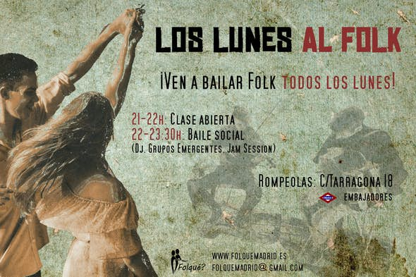 Folk Mondays in Madrid