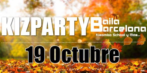 KIZparty 19 de Octubre - Baila Barcelona