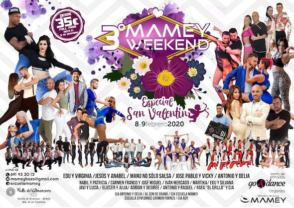 3º Mamey Weekend - Special Valentine's Day - 8 and 9 February 2020