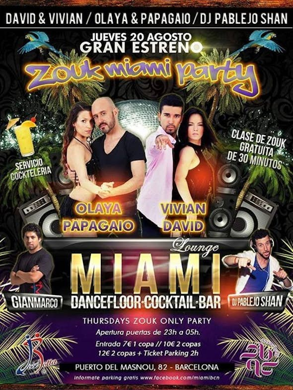 ZOUK MIAMI PARTY!!