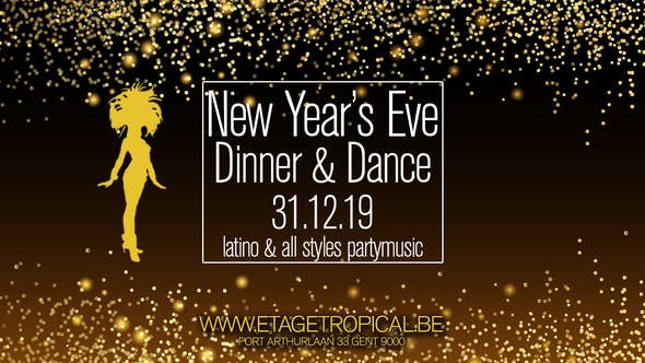 New Years Eve Dinner and Dance 31-12-2019
