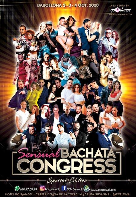 ¡APLAZADO! BCN Sensual Bachata Congress 2021