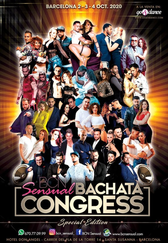 POSTPONED! BCN Sensual Bachata Congress 2021