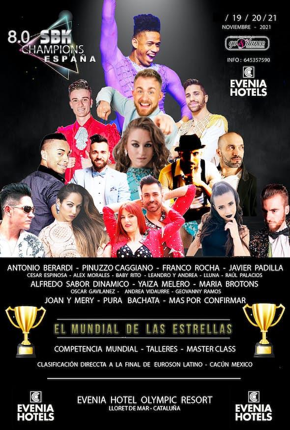 8.0 SBK CHAMPIONS ESPAÑA 2021 (EL MUNDIAL DE LAS ESTRELLAS)