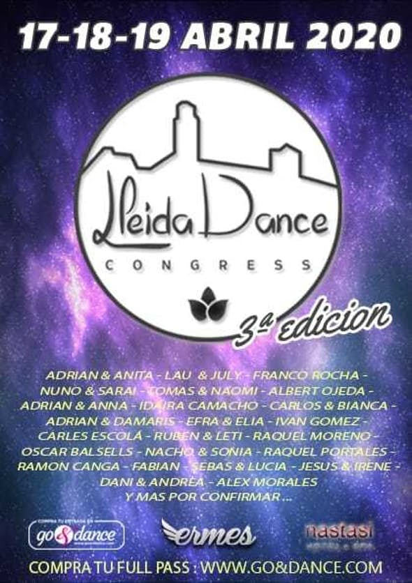 Lleida Dance Congress 2020