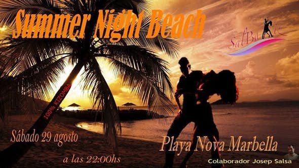 SUMMER NIGHT BEACH