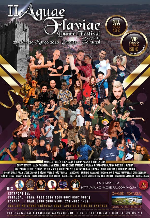 II Aquae Flaviae Dance Festival 2020