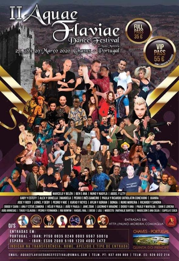 II Aquae Flaviae Dance Festival 2021