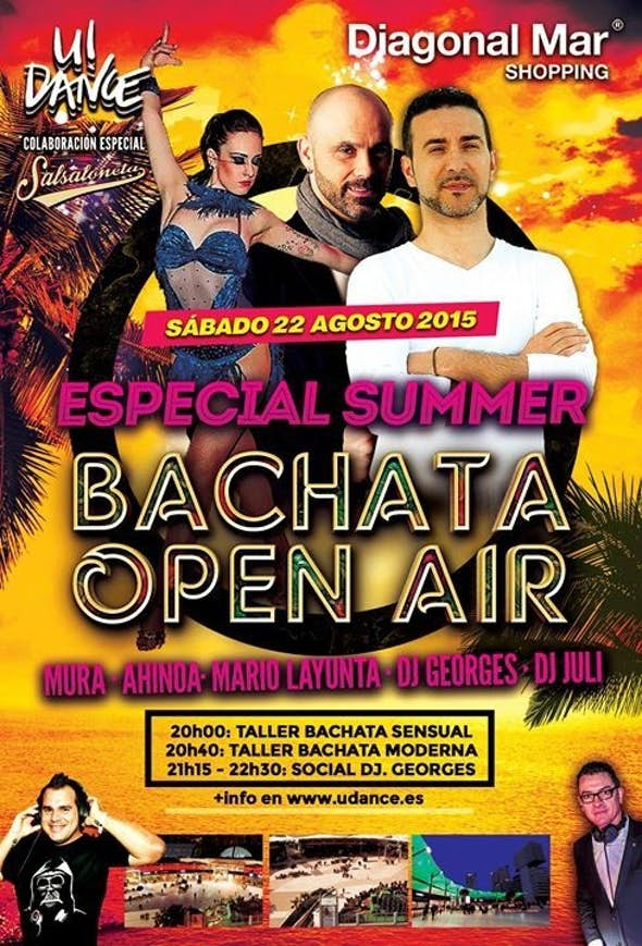 WORKSHOP OF BACHATA EN DIAGONAL MAR