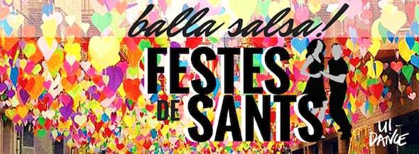 Balla Salsa a les FESTES DE SANTS