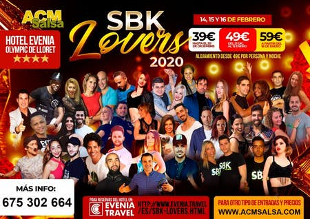 SBK Lovers - Febrero 2020