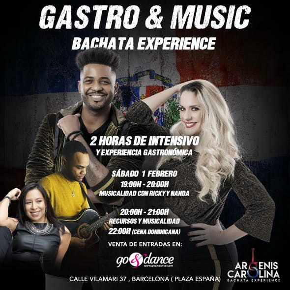 Gastro & Music Bachata Experience Intensive - 1 February 2020